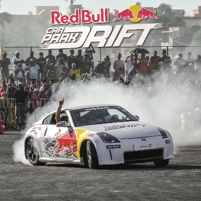 RedBull Car Park Drift