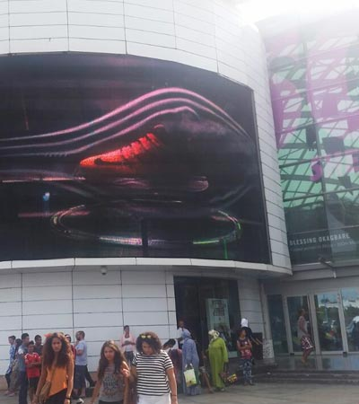 Jumbo LED screen